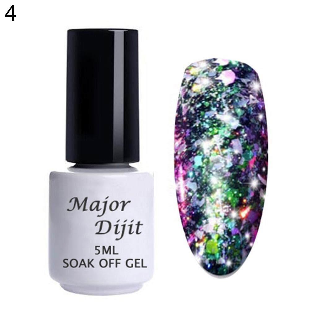 Bluelans® 5ml Women Finger Nail Art Gel Polish Glittering UV LED Lacquer Soak Off Varnish