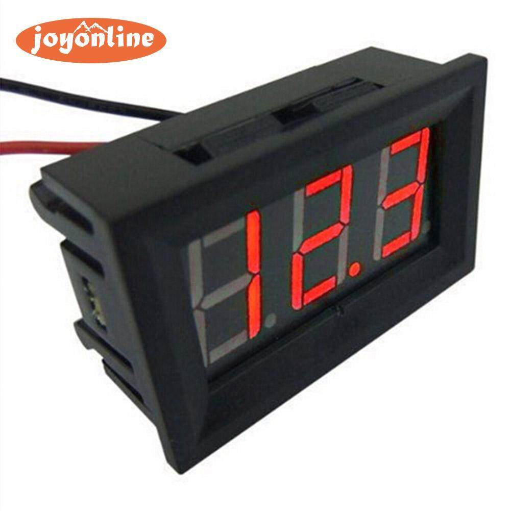 Car Gauges For Sale Fuel Online Brands Prices Reviews In Ammeter Wiring Diagram 93 Chevy Mini 036in Dc 24v 30v 2 Wire Led Digital Display Panel Battery