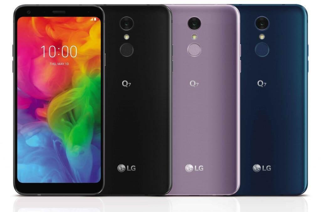 LG All New Q7 Plus BTS Collaboration Octa Core 4GB RAM 64GB ROM Moroccan