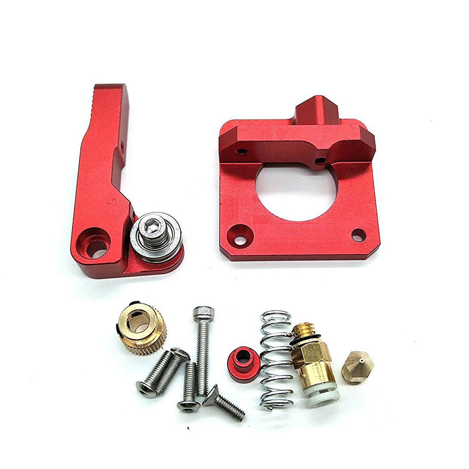 Cr-10 Extruder Upgraded Replacement, Aluminum Mk8 Drive Feed 3d Printer Extruders For Creality Cr-10, Cr-10s, Cr-10 S4, Cr-10 S5, Reprap Prusa I3, 1.75mm - Intl By Sunnny2015.