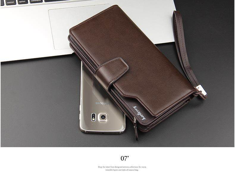 Top Brand Men Wallet Super Thin Soft Leather Business Casual Wallet Multi Men's Office Card