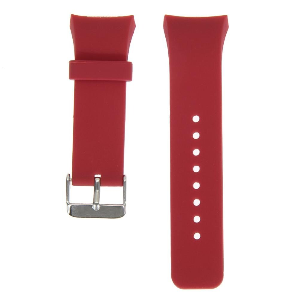 Silicone Watch Band Strap For Samsung Galaxy Gear S2 SM-R720(Red)