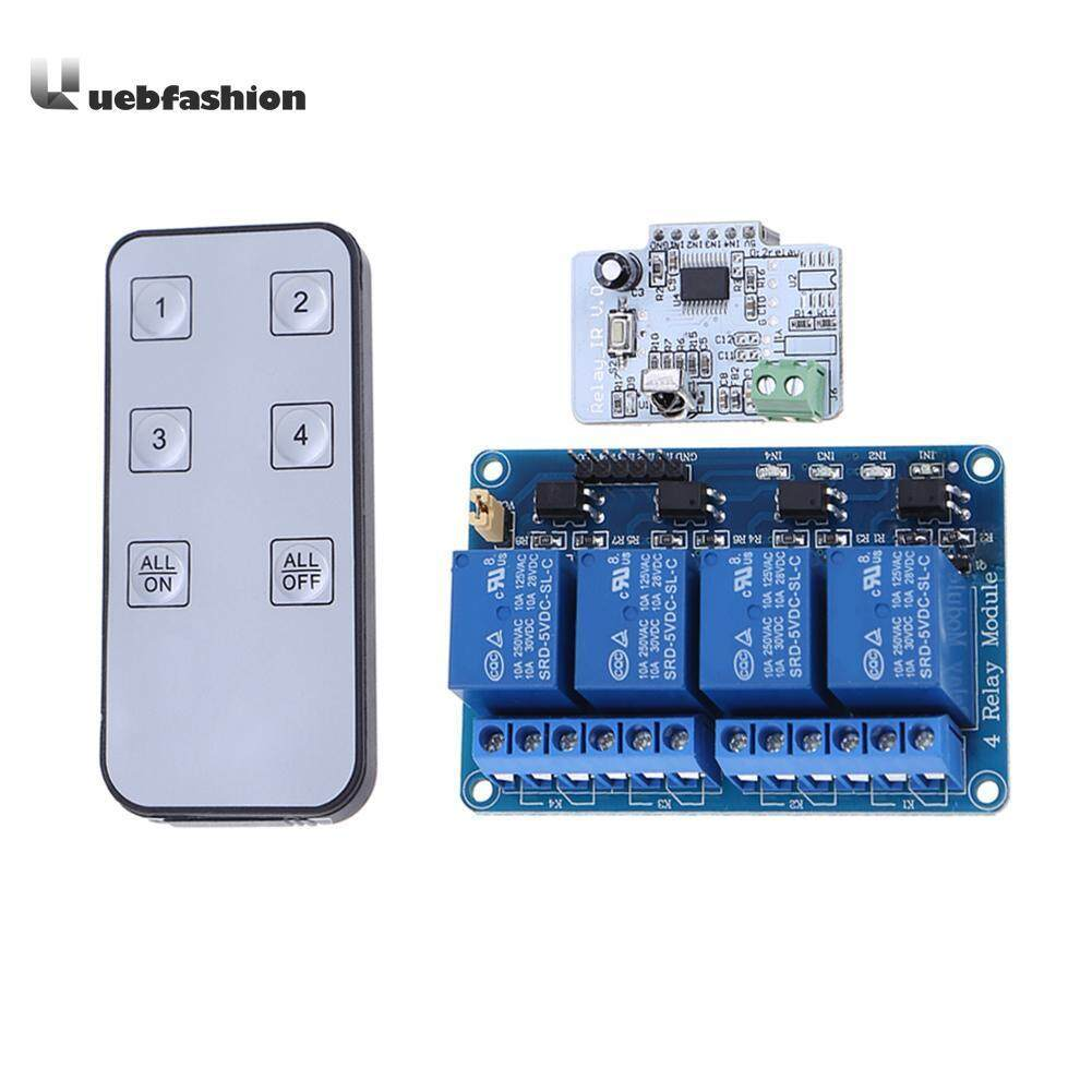 Features Remote Control Switch Transmitter With Receiver Module Infrared Transmitters 4 Ch 6 Button Ir Relay Board Contorller For