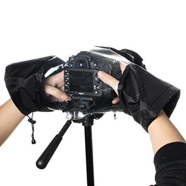 GES Pelindung Hujan Pelindung Kamera Yg Tahan Hujan Nilon DSLR Tahan Air Kamera Pelindung Hujan untuk Nikon Canon Pentax