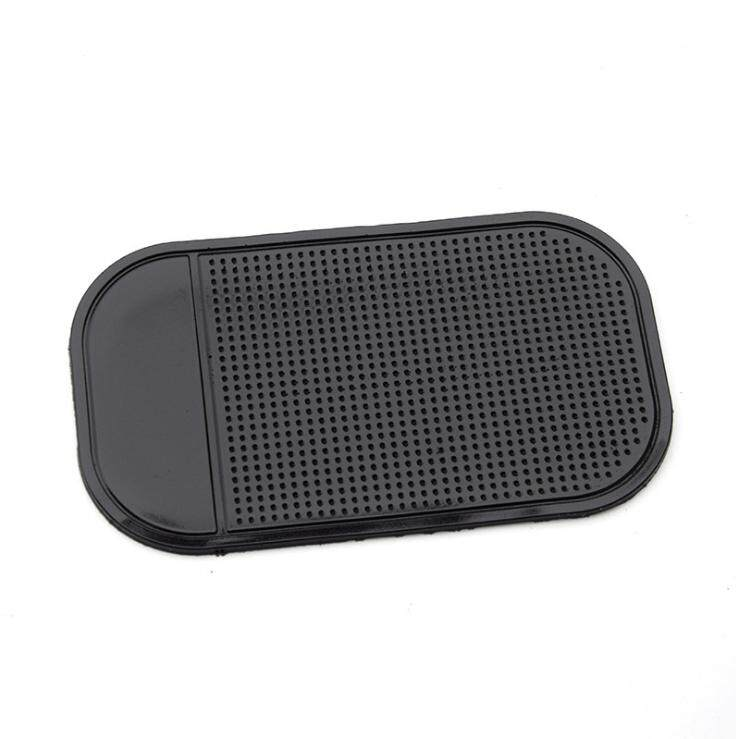 4 Pcs Magic Sticky Pad Anti Slip Mat Car Dashboard For Cell Phone (black) By Yingjie Store.
