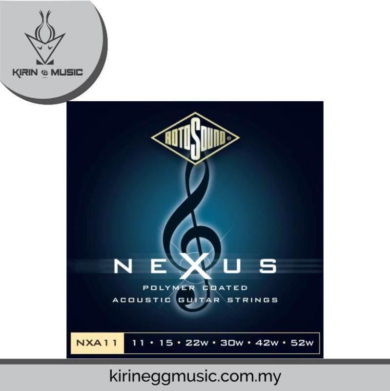 Rotosound Nexus Acoustic 0.11-0.52w Strings set Malaysia