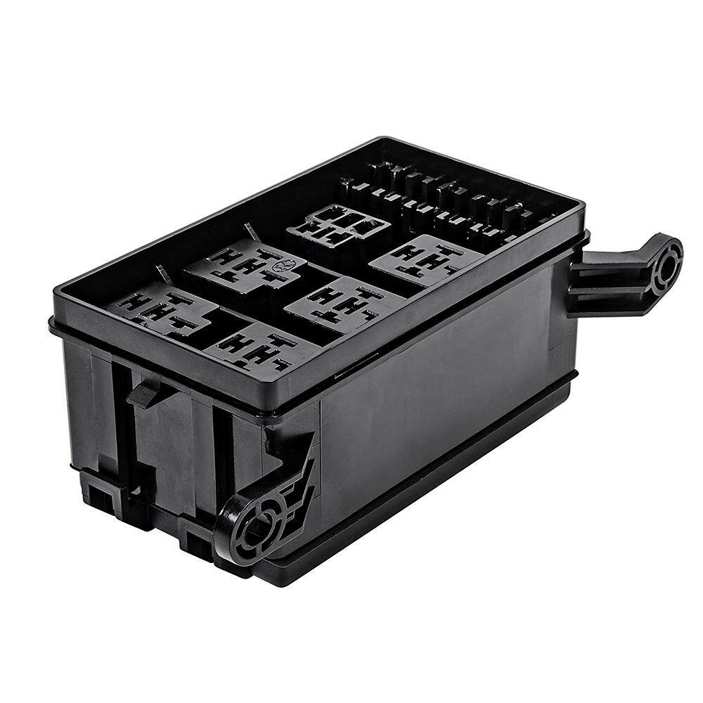 Features 12 Slot Relay Box 6 Relays Atc Ato Standard Fuses Holder Universal Automotive Fuse Block With