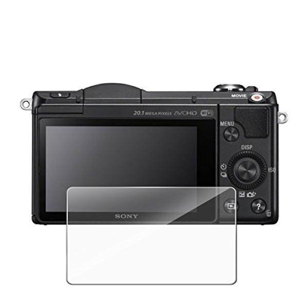Screen Protector for Sony DSLR Alpha Nex-7 NEX-6 NEX-5 A6000 A6300 A5000 Camera, MYECOGO HD Tempered Glass LCD Screen Protector Film [Anti-Scratch] [HD Clear] for Sony DSLR Camera(A6000 A6300 )