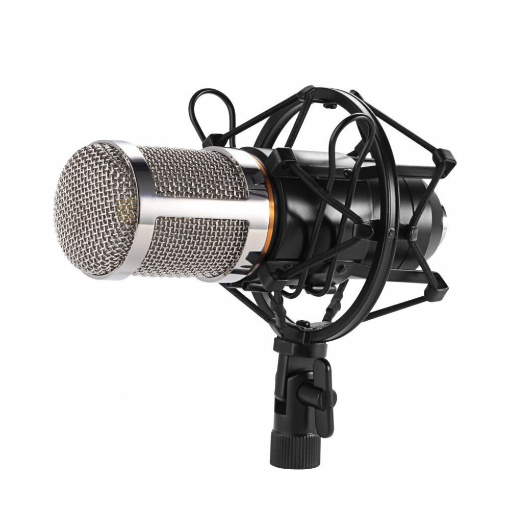 Product details of Professional Sound Studio Dynamic Mic + Shock Mount BM800 Condenser Microphone