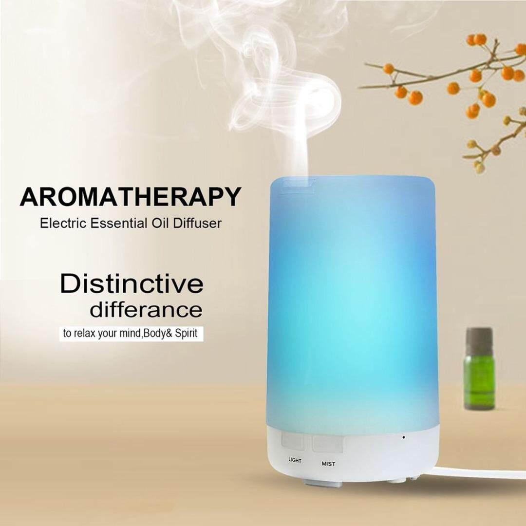 LED USB Color Change Aroma Air Humidifier Steam Oil Aromatherapy Diffuser - intl