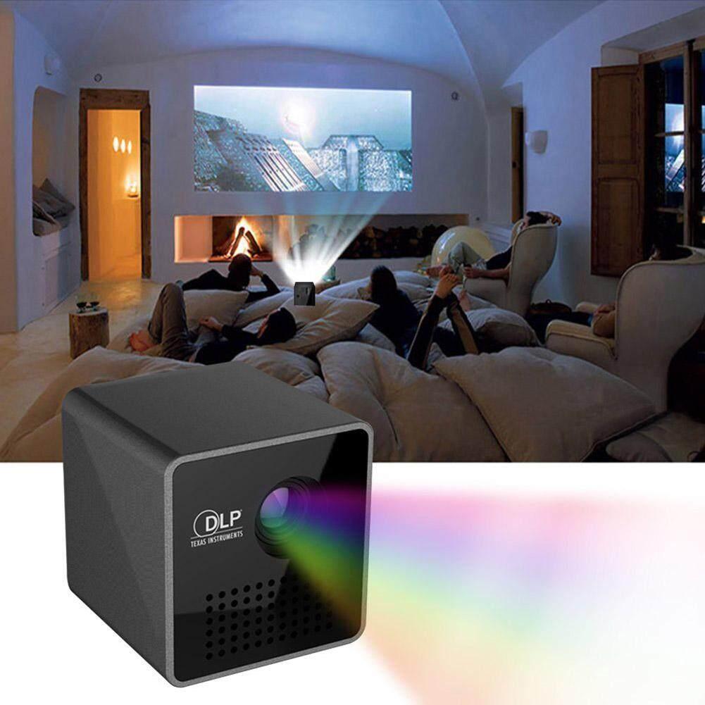 997da0dce9e80b Hossen Ultramini DLP Projector Full HD Mini Home Theater Cinema Projector