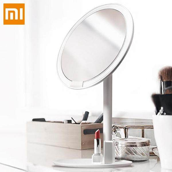 Original Xiaomi AMIRO AML004 Rechargeable Brightness Adjustable LED HD Makeup Daylight Mirror from Xiaomi Youpin