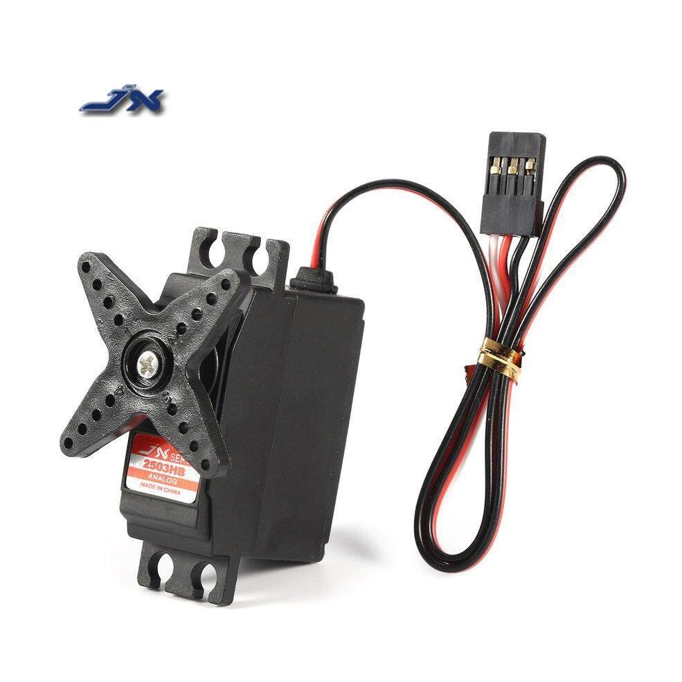 JX PS-2503HB 3Kg 4.8 V-6 V Analog Plastik Perlengkapan Mini Servo untuk 1/12 RC Mobil