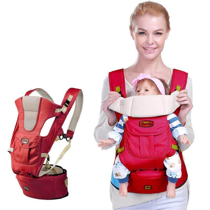 เป้อุ้มเด็กที่นั่งบนสะโพกสะพายหลัง Premium Double Lock อุปกรณ์รับน้ำหนักทารกที่เหมาะกับสรีระด้านหลัง By Baby Love Store.
