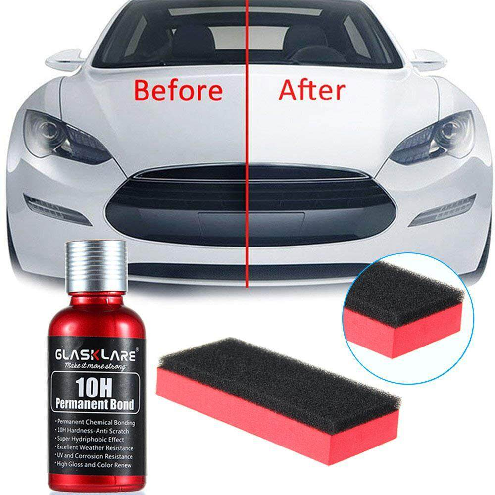 Auto Ceramics Coating,high Gloss Ceramic Coating Kit,30ml Anti-Scratch Car Liquid Exterior Care Sealant,10h Hardness Nano Technology, Super Hydrophobic Glass Coating By Kobwa Direct.