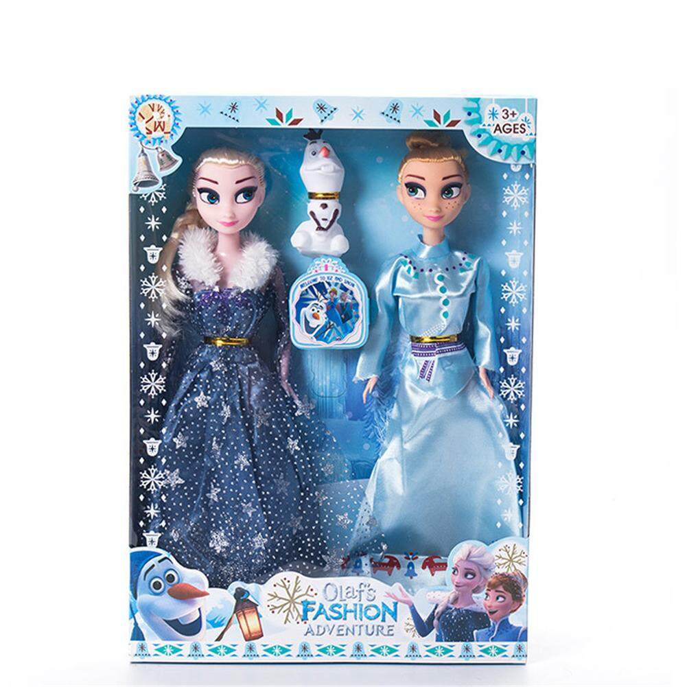 Ryt 2pcs 11.5 Inch Disney Frozen Ice And Snow Princess Doll For Children Girls By Ryder Yi Trading.