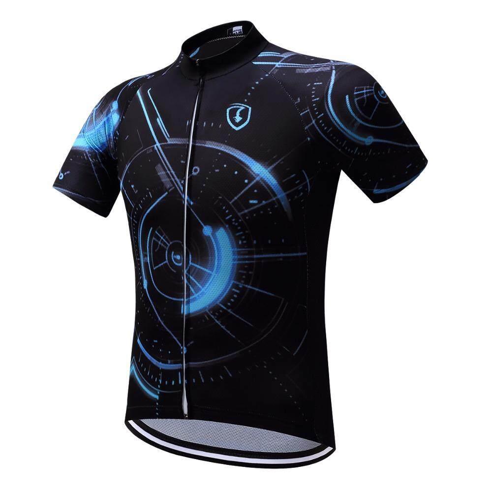 Jual Jersey Sepeda Pria Terbaik Oneal Biru Merah Motor Cross Colorful Men Cycling 2018 Summer Short Riding Bicycle Clothing Sport Jerseys
