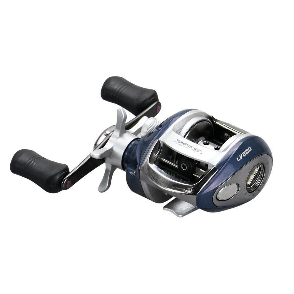 12+1 BB Ball Bearing 6.2:1 Bait Casting Fishing Reel One-way Clutch Baitcasting Reel Right Hand Fishing Reel Magnetic Brake Lure Fishing Reel - intl