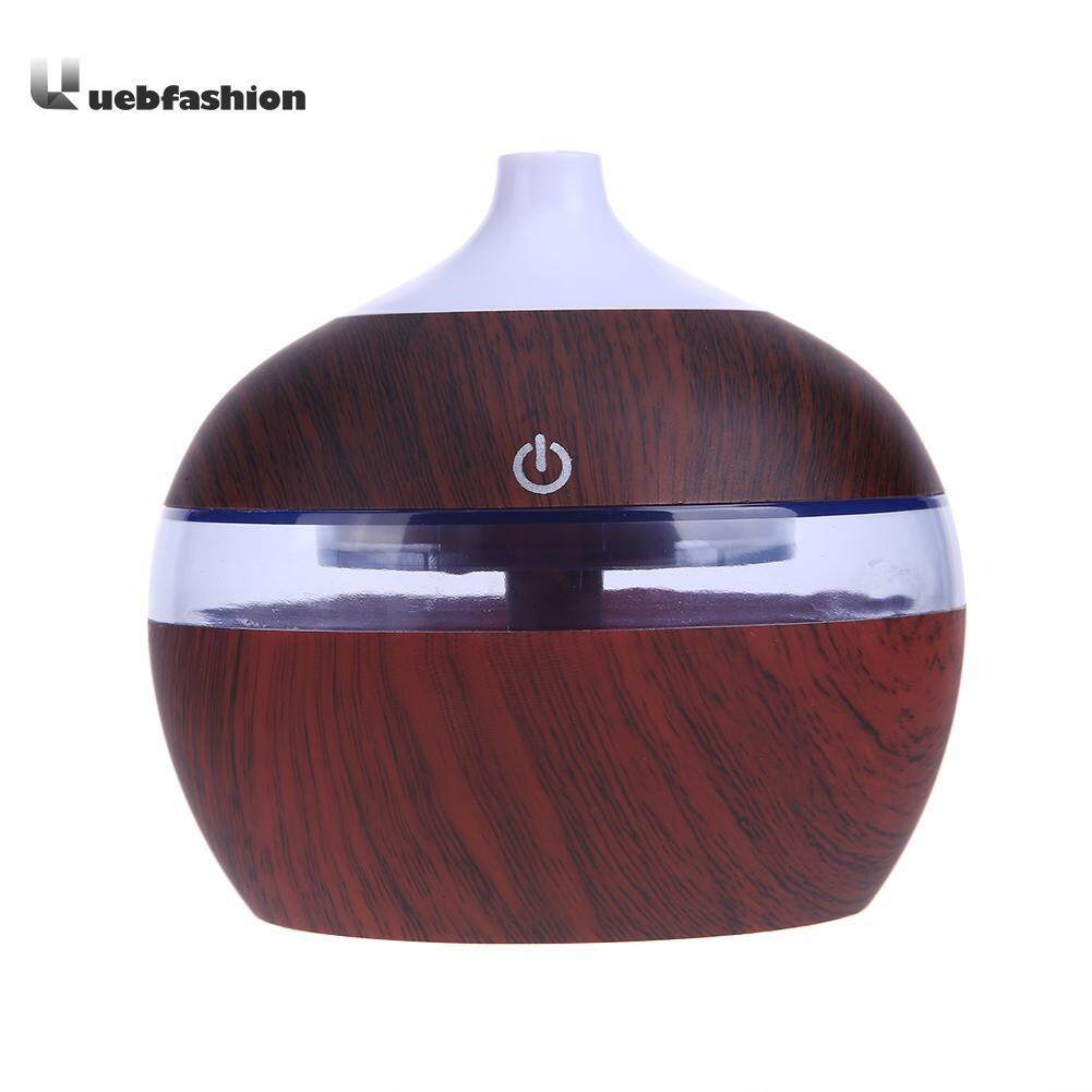 Bảng giá 200ml Ultrasonic Mini Wooden Aromatherapy Humidifier with 7 Color LED Light - intl