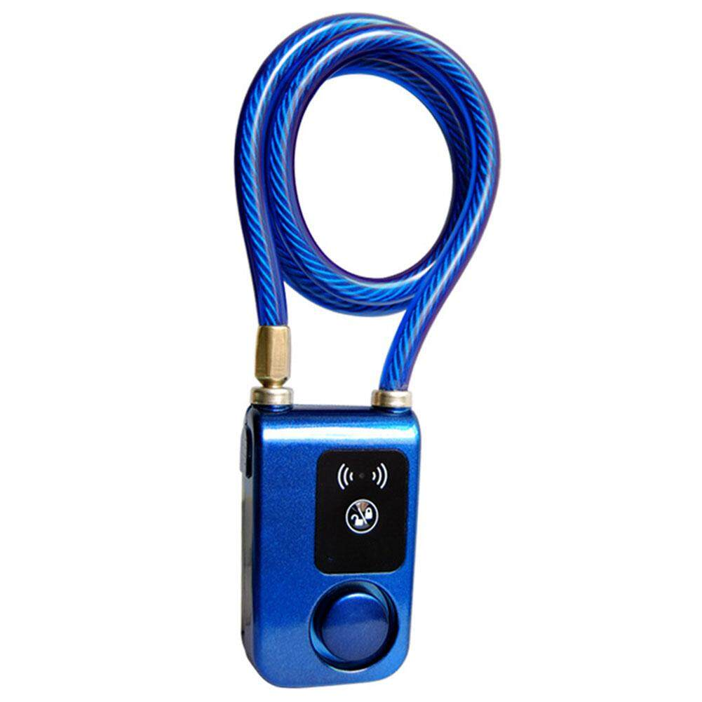 Waterproof Anti Theft Smartphone Steel Smart Chain Bluetooth Bicycle Remote Control Lock