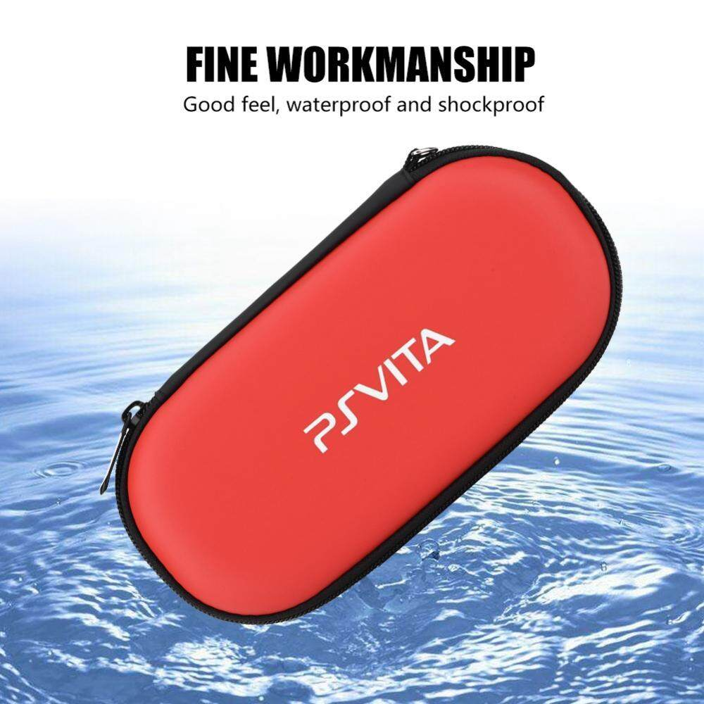 Carrying Case for PS Vita Red Protective Hard Case Cover Carry Pouch Travel Bag - intl