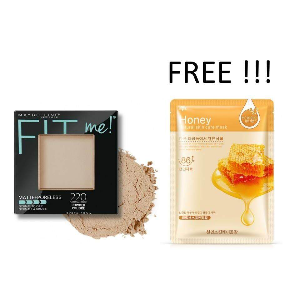 Maybelline Face Makeup Compacts Powder Price In Malaysia Best Two Cake Bedak 2 Pcs Fit Me Pressed 220 Natural Beige 1s