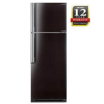 Sharp Plasmacluster J-Tech INVERTER 470Litre 2 Door Refrigerator/Fridge SJE535MBK