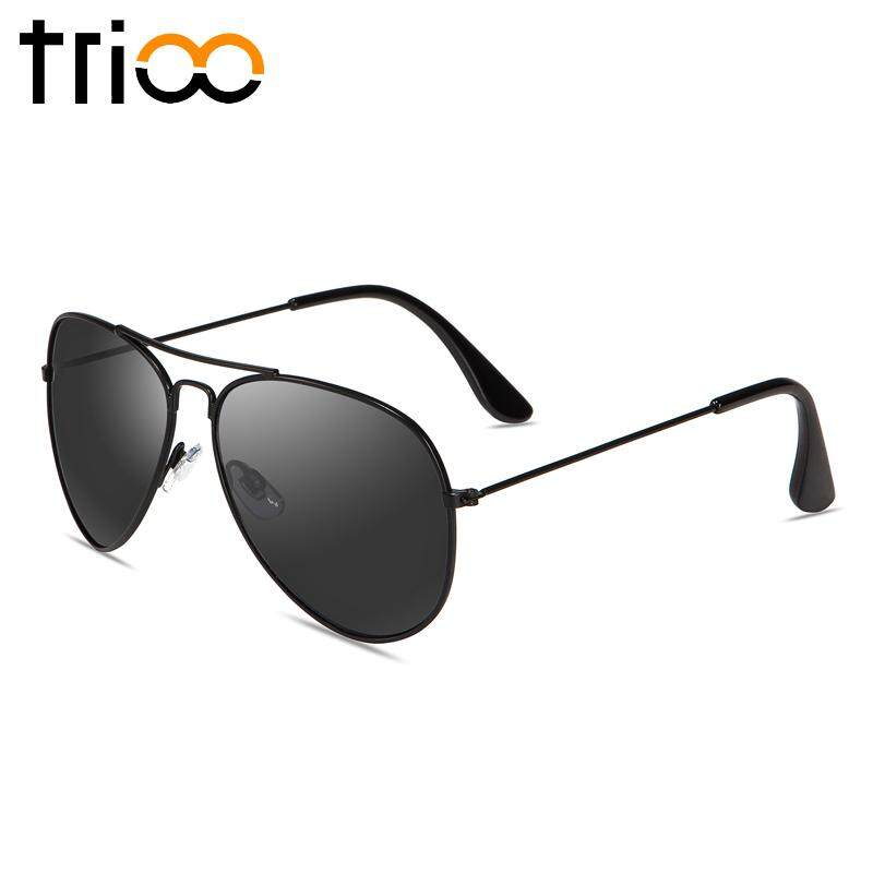 TRIO Merek Designer Brown Sunglasses Wanita Klasik Percontohan Lunette Shades Klasik Gaya Sun Glasses Lensa Warna Mewah Oculos Blush Pink