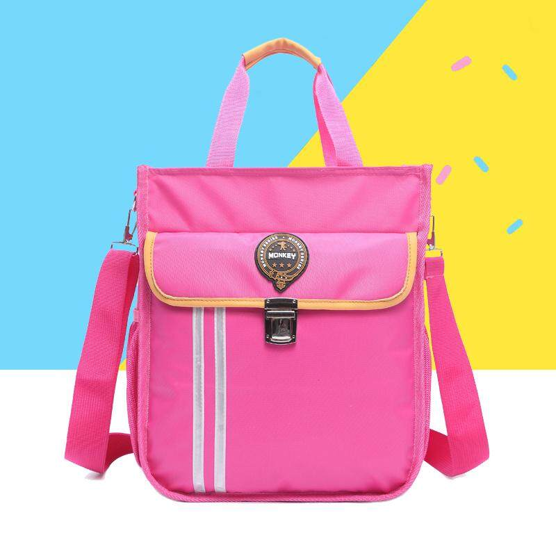 Young Students bu xi dai Boys Makeup Missed Lessons Hand Carrying School Bag Girls Secondary School Kids Messenger Bag Shoulder Bag