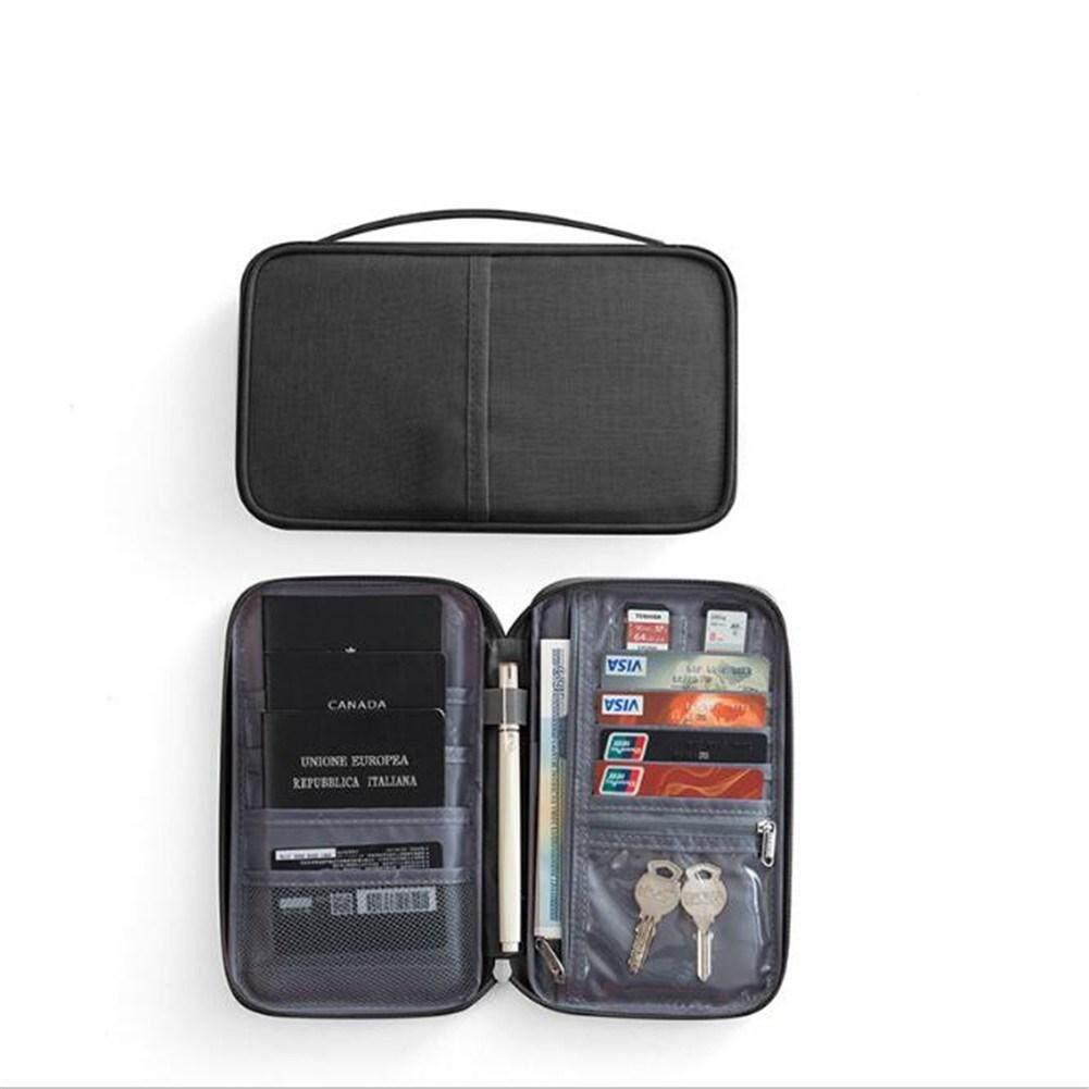 Portable Paket Paspor Tempat Tiket Tahan Air Docum Tas