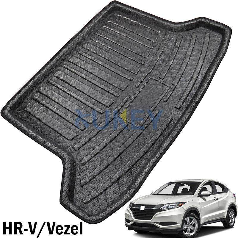 Rear Trunk Boot Liner Cargo Mat Floor Tray For Honda Hr-V Hrv Vezel 2014-2017 - Intl By Freebang.