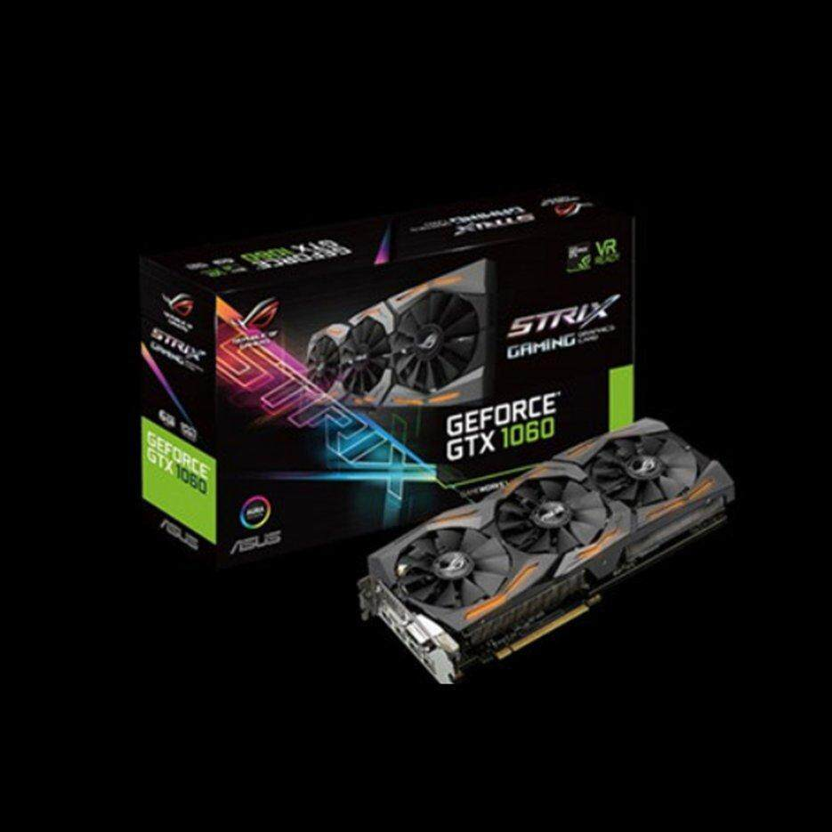 ASUS ROG Strix-GeForce GTX1060-6G-GAMING GeForce GTX 1060 Kartu Grafis