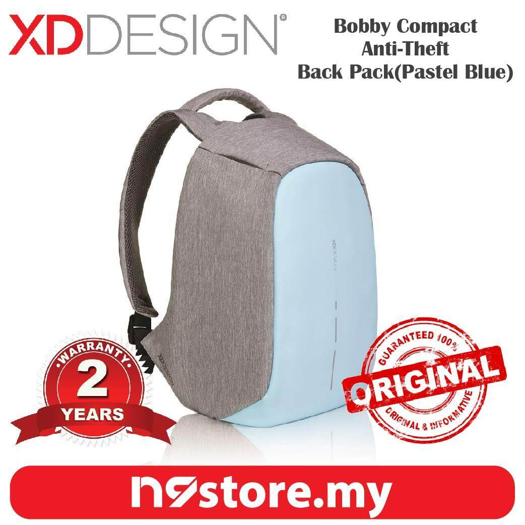 XD Design Bobby Compact Pastel Blue Anti-Theft Cutproof Backpack