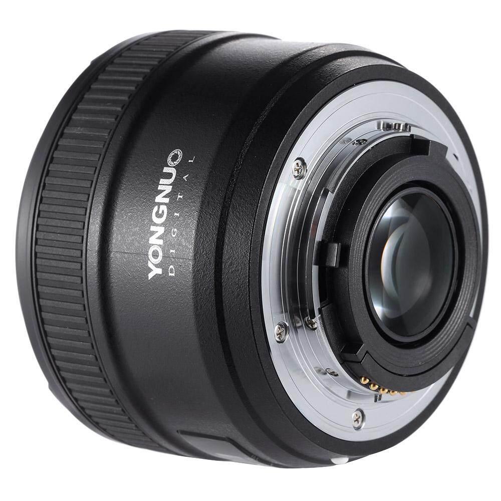 Yongnuo YN50mm F1.8 Bukaan Apertur Besar Otomatis Fokus FX DX Penuh Bingkai Lensa untuk Nikon-Internasional