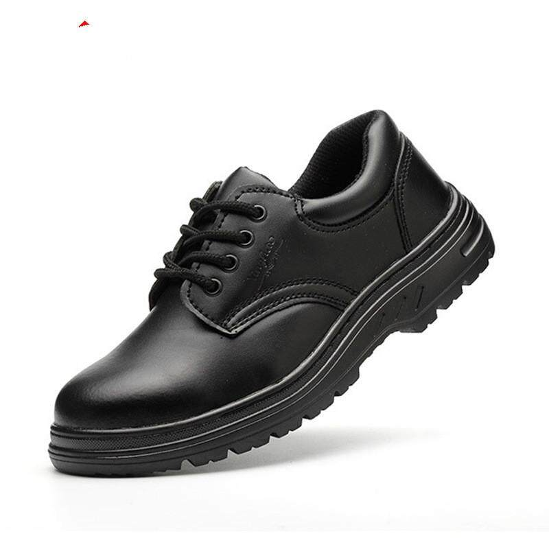 New Popular Low Cut Safety Work Shoes Non-Slip Soles Hit and Puncture Proof Steel Toe Sneakers Mens and Womens size 36-46