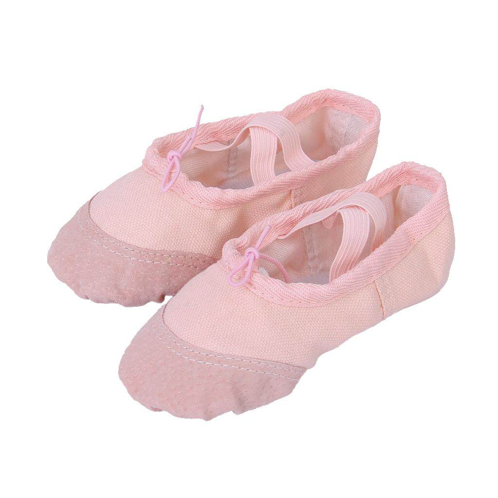 Magideal Soft Pink Canvas Ballet Shoes Us Toddler Size 7 1/2 (5 1/2 Inch) By Magideal.