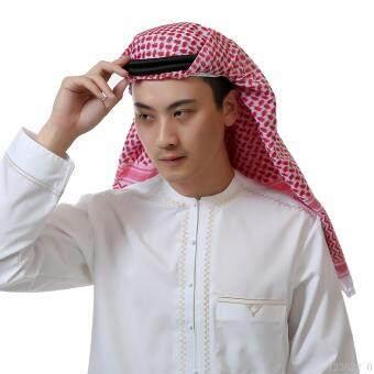 การตรวจสอบของ Muslim Arabia Male Turban Headband Men's Headscarf Hat - intl ซื้อ - มีเพียง ฿296.72