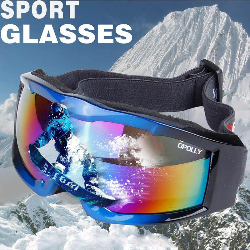 Poruis Sports Single Layer Protective Goggles for Motorcycle Windshield Ski Goggles