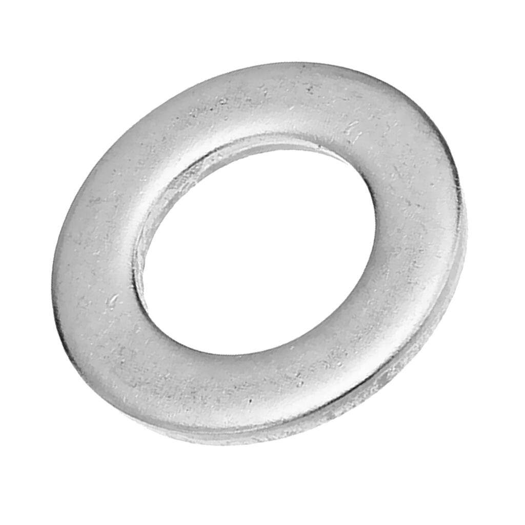 Miracle Shining M10*50Pcs + M8*50Pcs Stainless Steel Flat Washers Flat Pads Assortment Kit