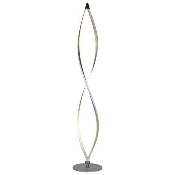 Brightech Twist Modern Led Floor Lamp Living Room Standing Light Fixture With 920 Lumens 43