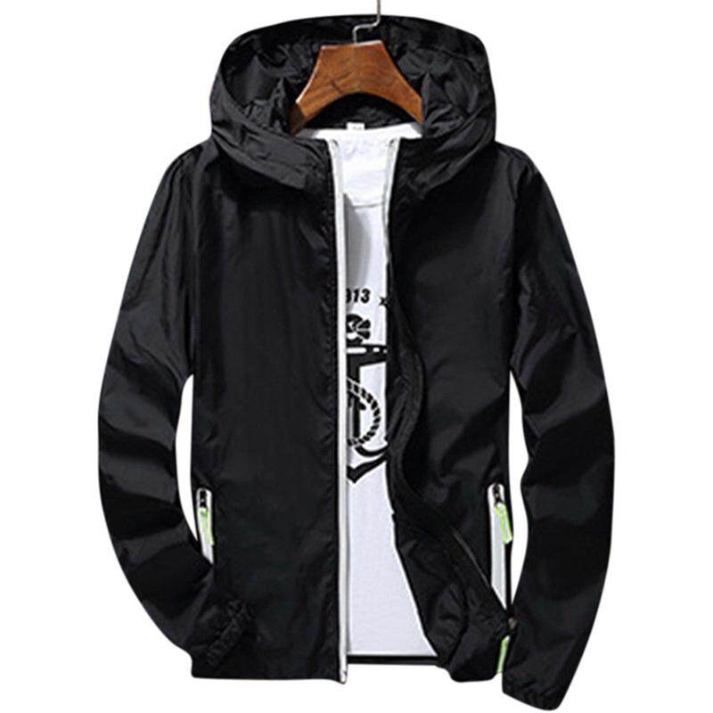 5d123184bc3be RD Men/Women Waterproof Windbreaker Jacket Hoodie Casual Sports Outwear Coat