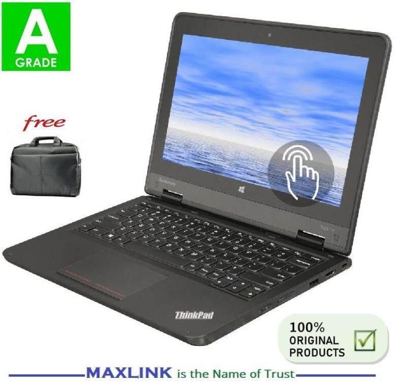 Lenovo ThinkPad Yoga Intel N2930 RAM 4GB  / 128GB SSD 11.6 Touch Screen Low Budget Strong Business Laptop (REFURBISHED) Malaysia