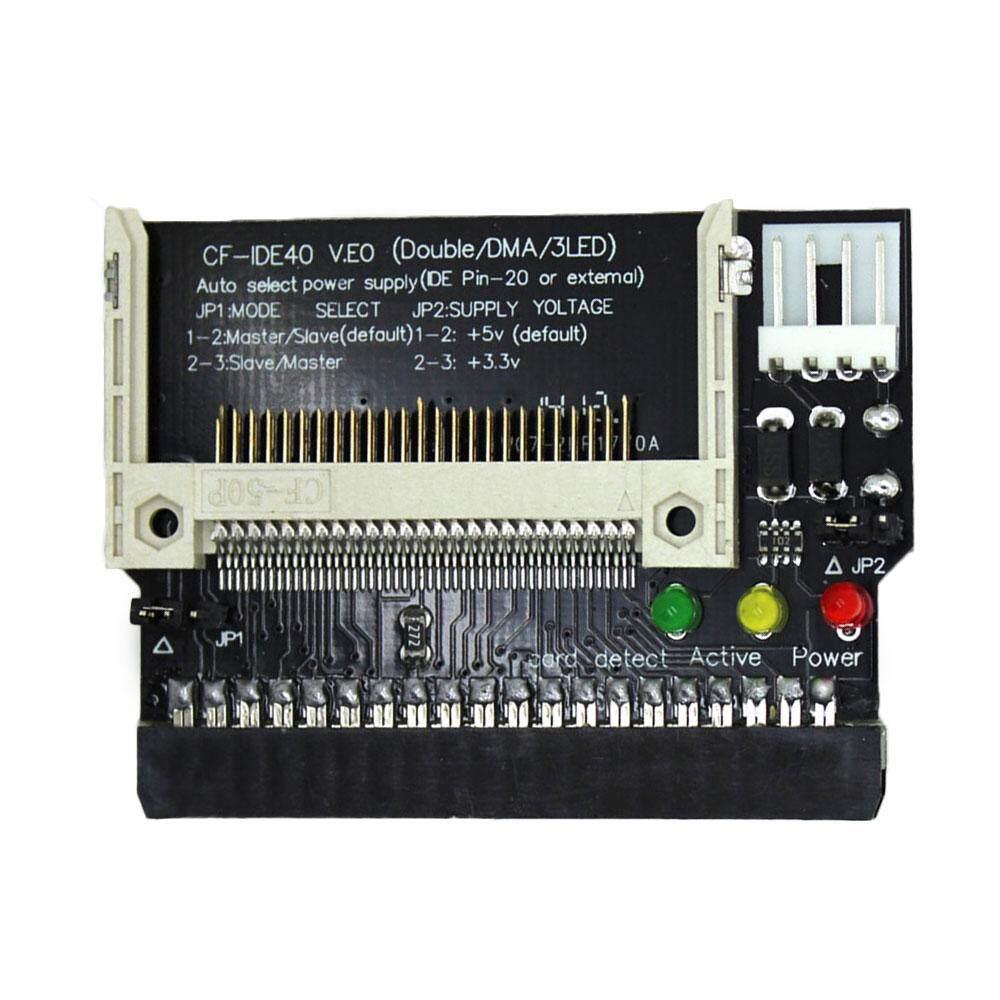 AUkEy CF 3.5 Wanita 40Pin Ide Bootable Adaptor Drive Kartu Konverter Kit Sirkuit-Intl