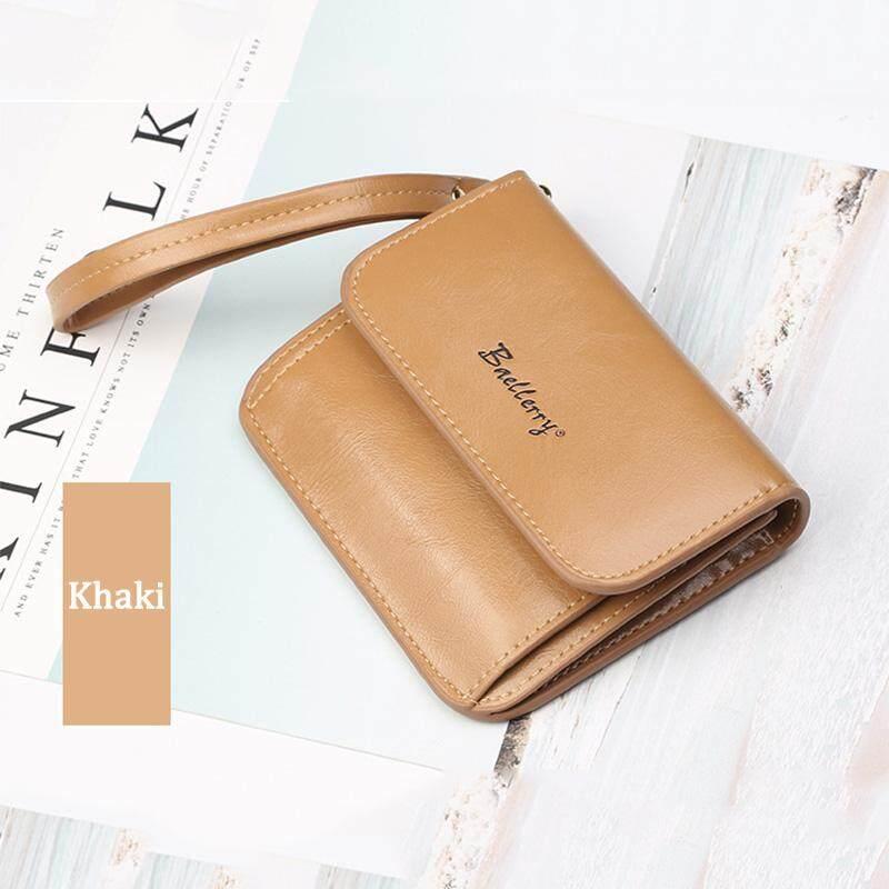 Baellerry แบรนด์กระเป๋าสตางค์ผู้หญิงคุณภาพสูงกระเป๋าสตางค์การ์ดความจุขนาดใหญ่กระเป๋าถือสำหรับผู้หญิง 5510-2 By Kerry Trading.