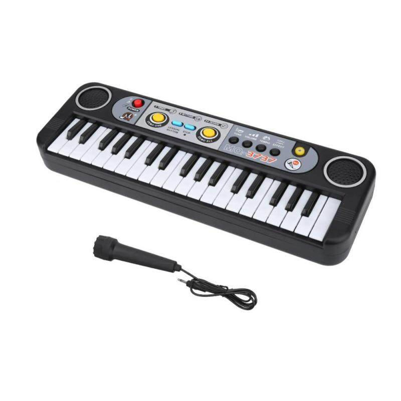 37-Key Electric Digital Key Board Piano Musical Instruments Kids Toy with Microphone Malaysia