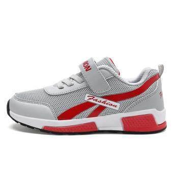 Harga preferensial Musim Gugur dan Musim Dingin Baru Anak Laki-laki Tinggi untuk Membantu Korea Versi Gesper Kapas Olahraga Sepatu Velcro Sepatu Kasual beli ...
