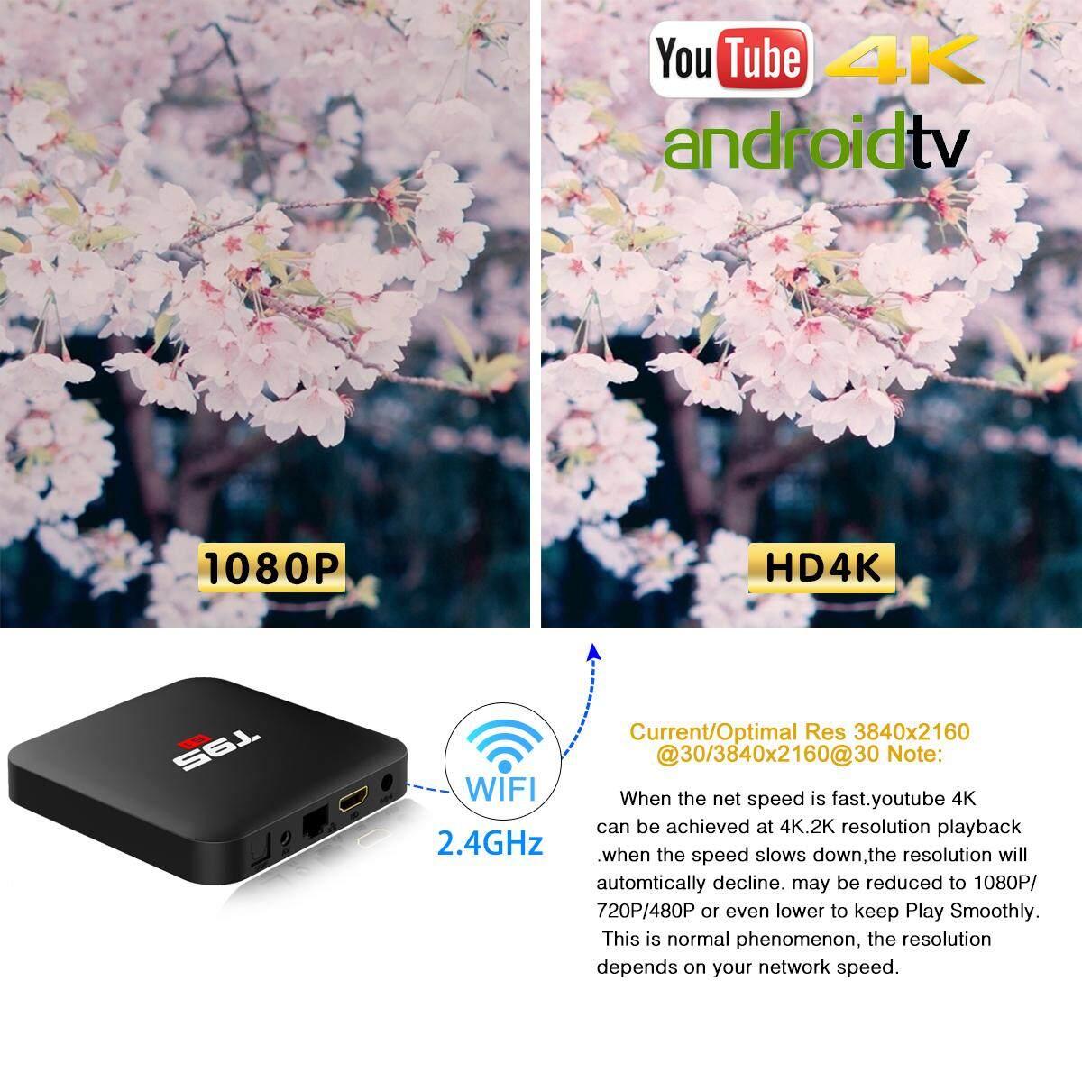 T95S1 IPTV Box 64Bit 2GB RAM 16GB ROM (1 Year Warranty)