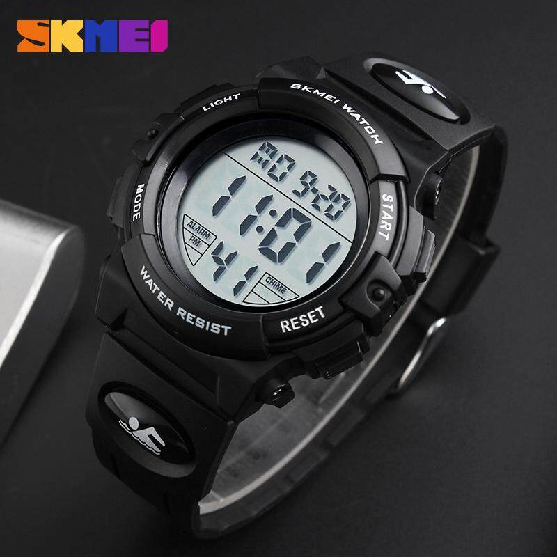 SKMEI Brand Children Watches LED Digital Multifunctional Waterproof Wristwatches Outdoor Sports Watches for Kids Boy Girls Malaysia
