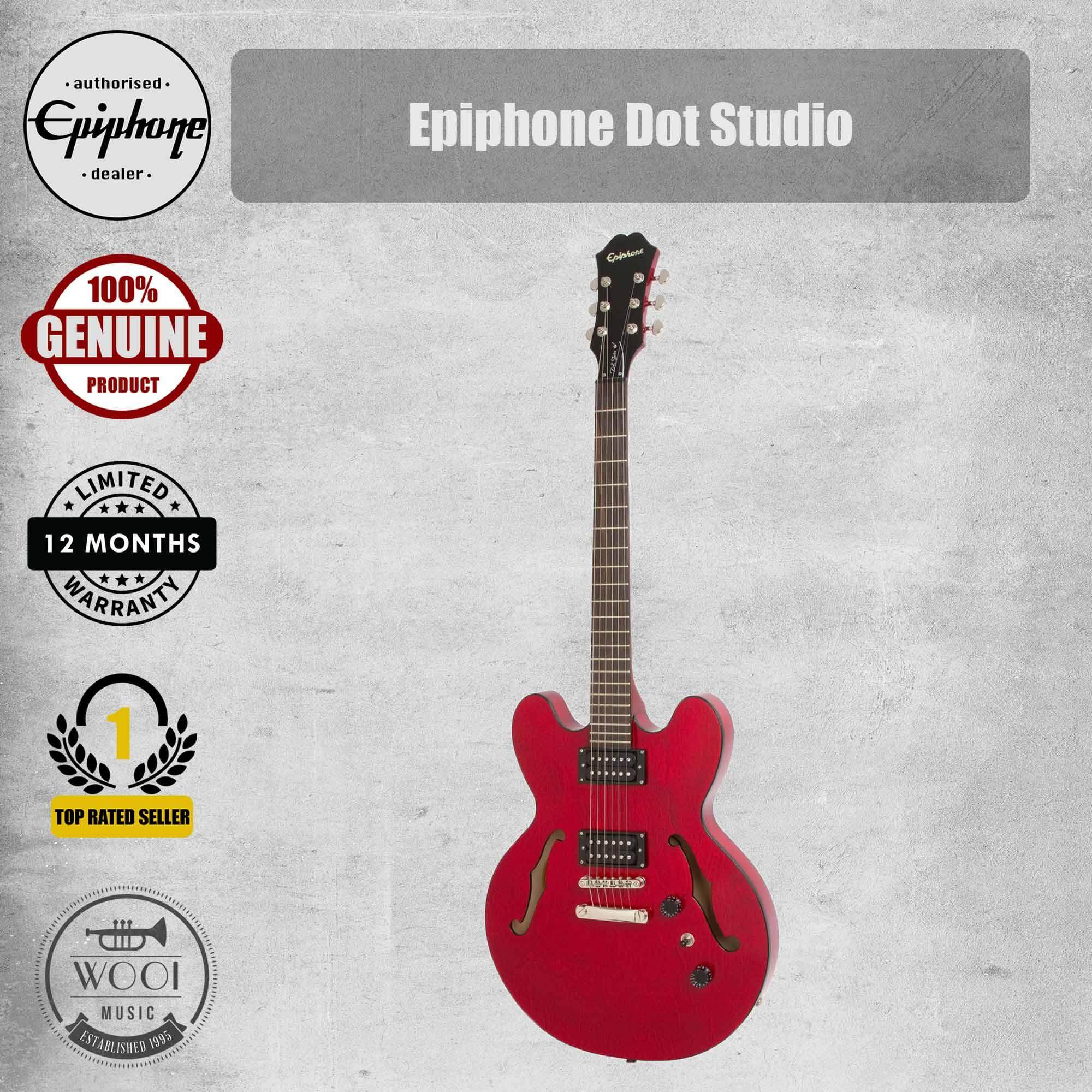 Epiphone Limited Edition Dot Studio Electric Guitar (Cherry Gloss)