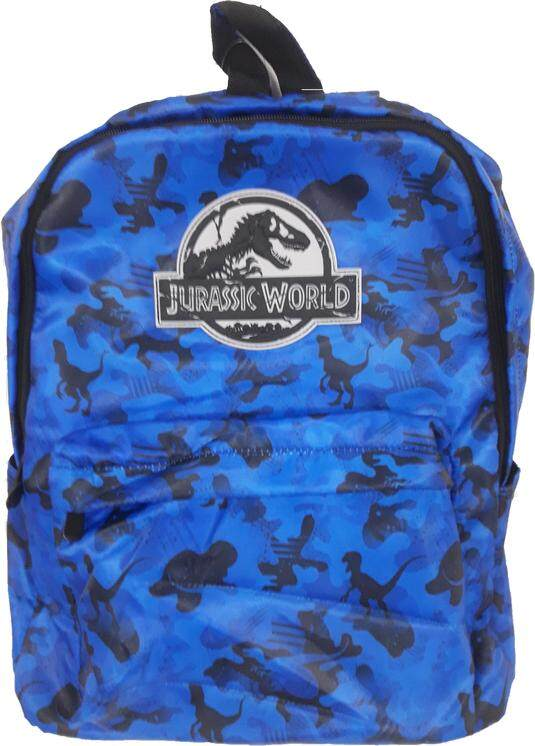 Jurassic World Backpack Blue Color